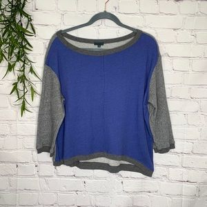 Left of Center Anthro colorblock pullover large